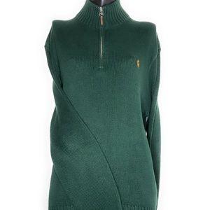 Polo RALPH LAUREN Pima Cotton 1/4 Zip sweater